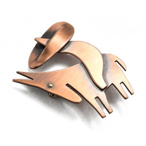 Rebajes Sombrero Man & Donkey Copper Pin
