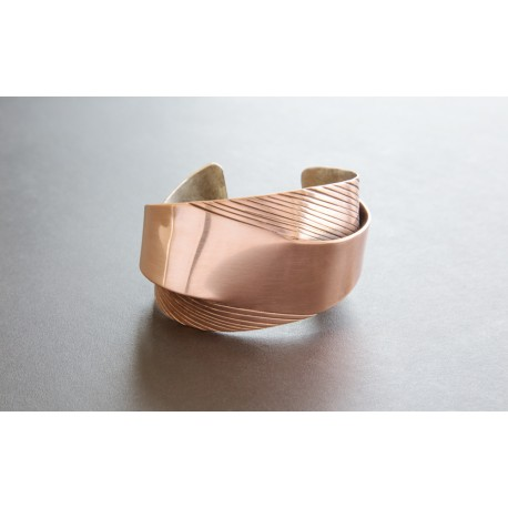 """My Masterpiece"" Copper Cuff"