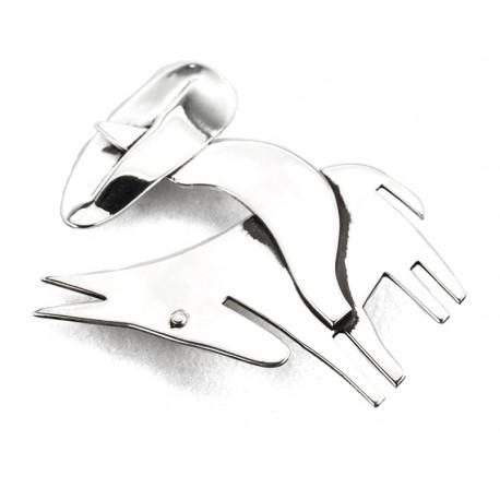 Rebajes Sombrero Man & Donkey Silver Pin