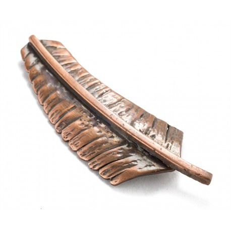 Rebajes Banana Leaf Copper Pin